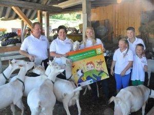 Biobauernfamilie Pobaschnig gewinnt den Bio-Award Kärnten 2014