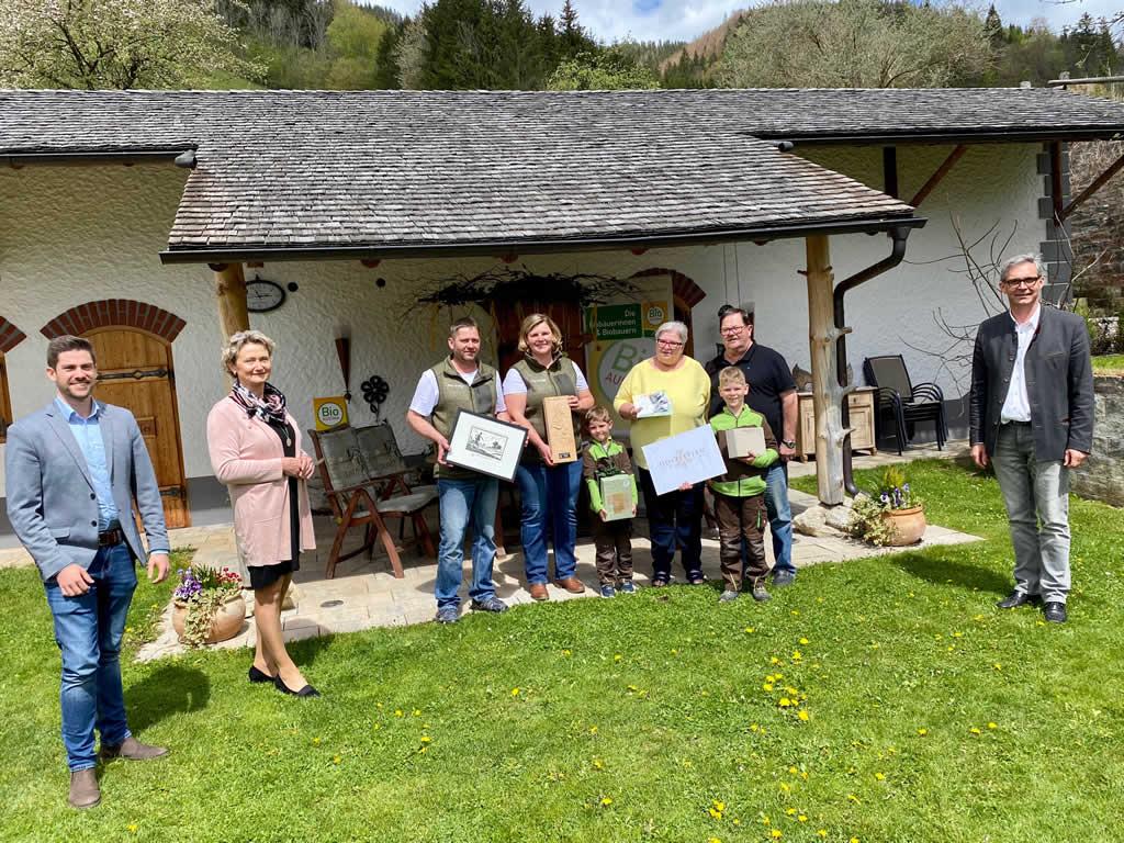 Familie Gröbl gewinnt den Bio Award 2021 in Oberösterreich